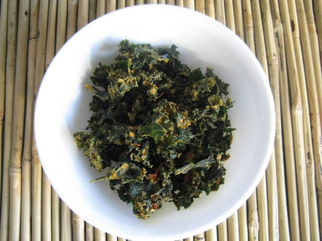 how to make kale chips taste good